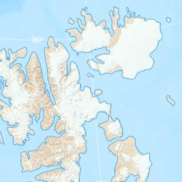 Research In Svalbard RiS Portal - Svalbard map